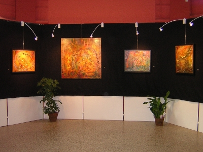 Past exhibitions of Chantal Bietlot